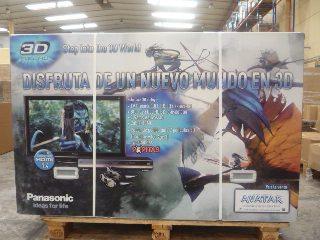 Pack 3D Panasonic VT20 blu-ray