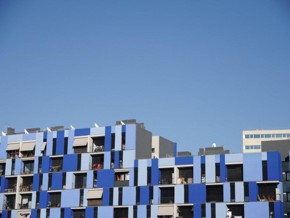 Edificio de viviendas sociales