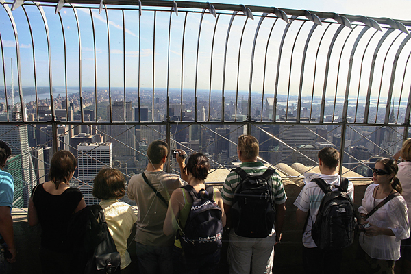 Obligatorio subir al Empire State
