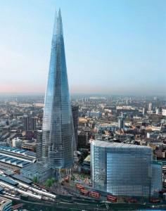 Torre Shard London panasonic