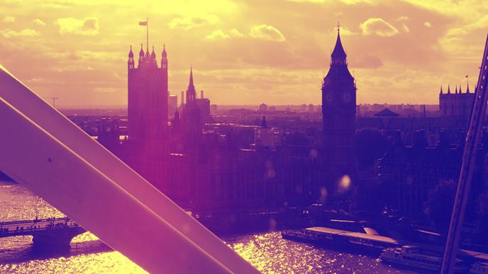 Big Ben y las Casas del Parlamento desde el London Eye_Blog