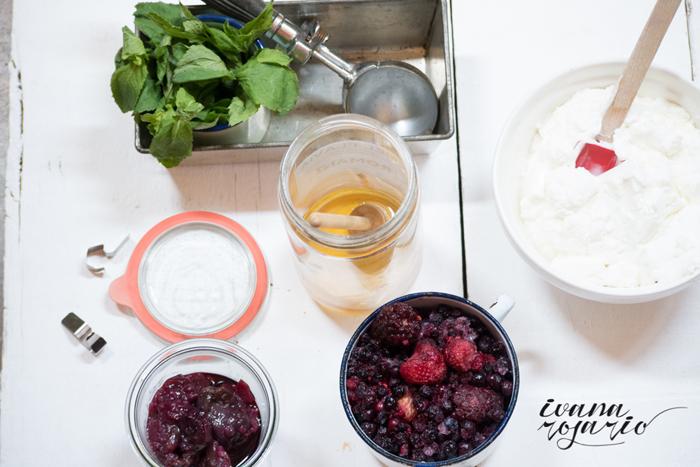 0004 20140712 Helado yogurt y cerezas, con frutas del blosque Panasonic