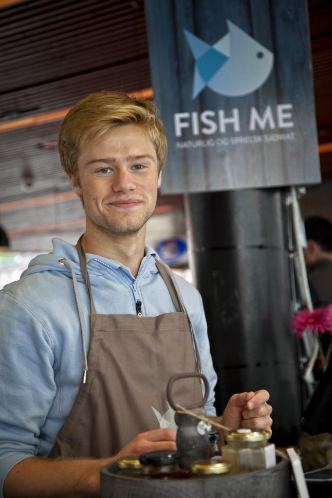 Trabajando en el Mercado del Pescado