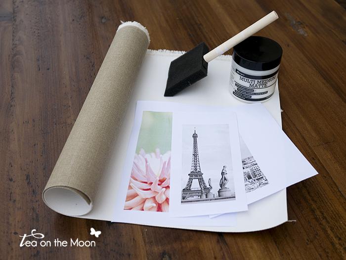 transferir imagen en un lienzo