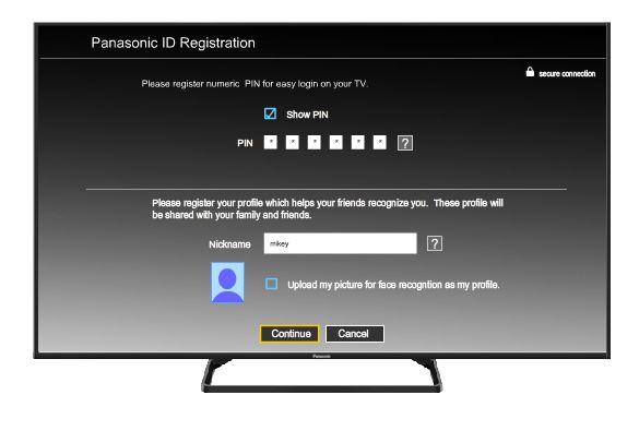 PIN en televisores Panasonic Smart TV