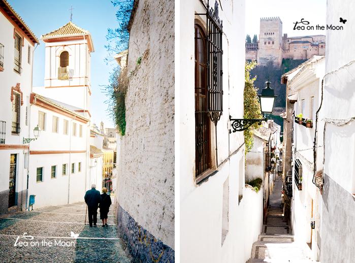 Granada Albaycin calles