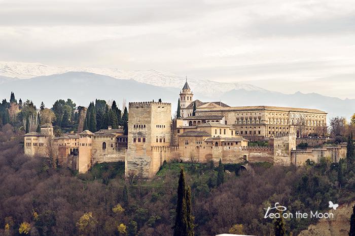 Granada l'Alhambra mirador de San Nicolas