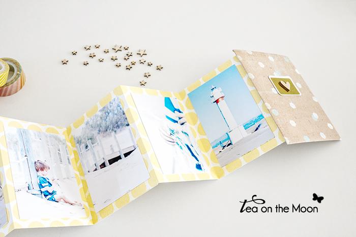 6 mini album acordeon