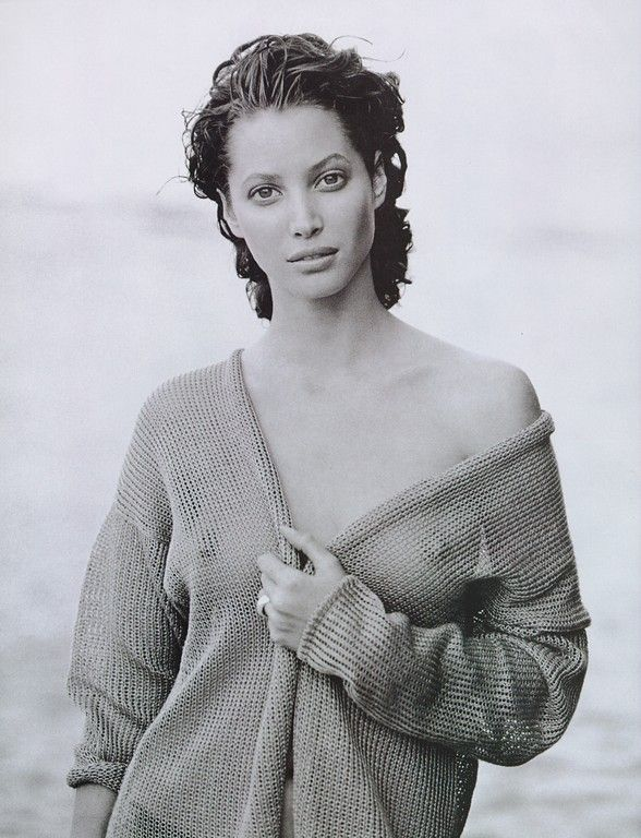 Christy Turlington - Photography by Peter Lindbergh
