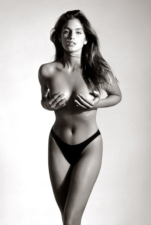 Cindy Crawford por Herb Ritts
