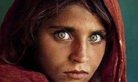 Retrato   Niña Afgana, Pakistán   Steve McCurry