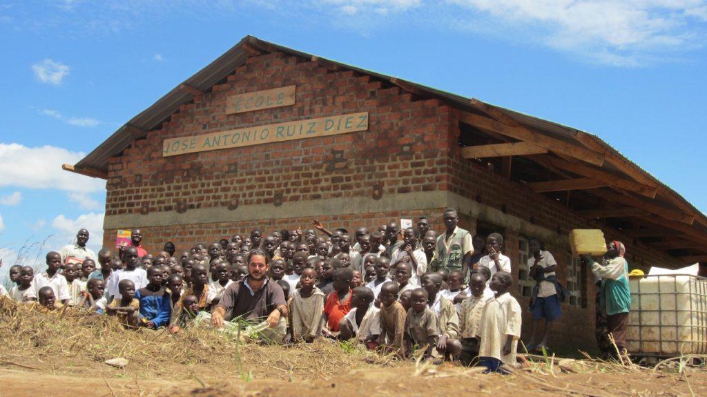 Donation for DRC education with Jose Antonio Ruiz Diez