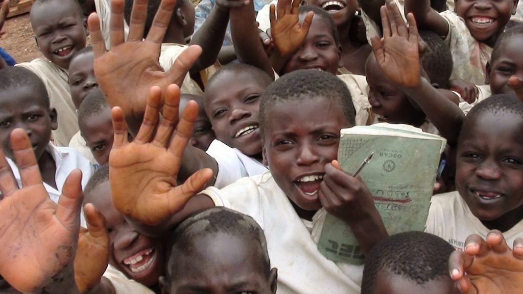 Help them through a donation for DRC education