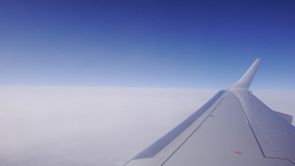 Volando sobre Alemania