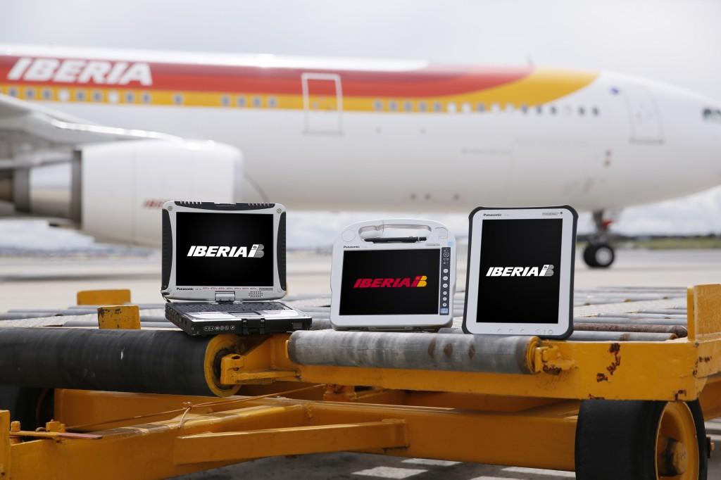 Iberia Toughbook