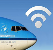 Wi-Fi en los aviones de KLM y Air France, gracias a Panasonic