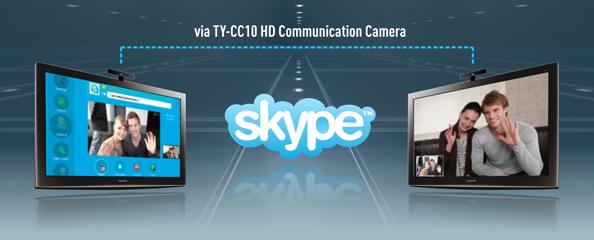 2010 Viera Cast - skype Large Image