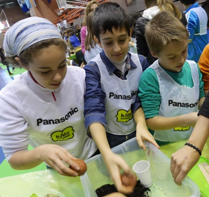 Los niños y niñas de hoy, claves para el Planeta del mañana