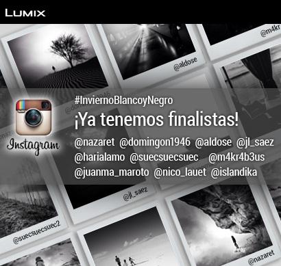 #InviernoBlancoyNegro: los 10 finalistas de Instagram