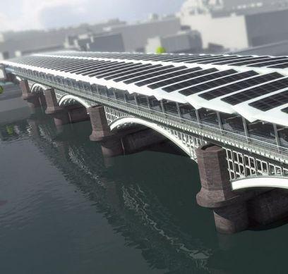Bienvenidos al mayor puente solar del mundo