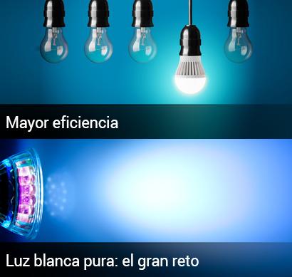 El gran reto de la iluminación LED: la luz blanca pura