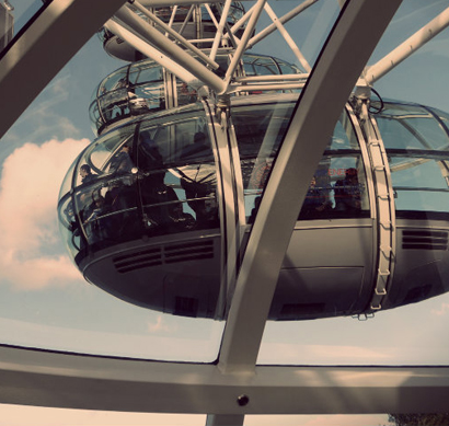 Una vuelta en el London Eye