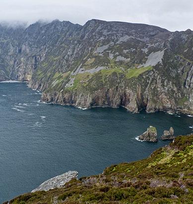 Slieve League, el rugido del mar en Irlanda