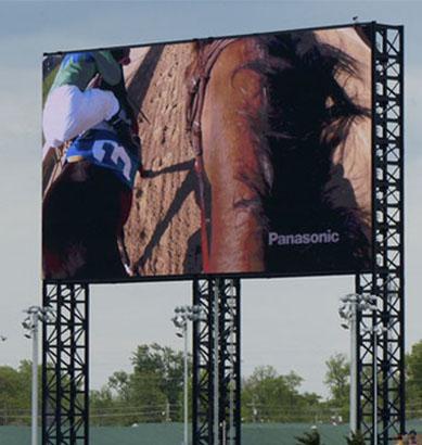 Panasonic instala la 4K Big Board de ultra alta definición