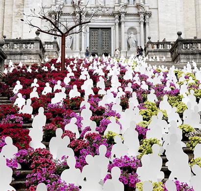 Girona, la ciudad que se viste de primavera