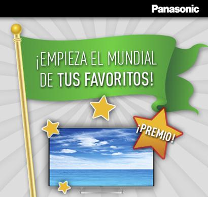 """¡Juega al Mundial de tus favoritos! ¡Participa y gana una Smart TV Panasonic AS650 de 42""""!"""