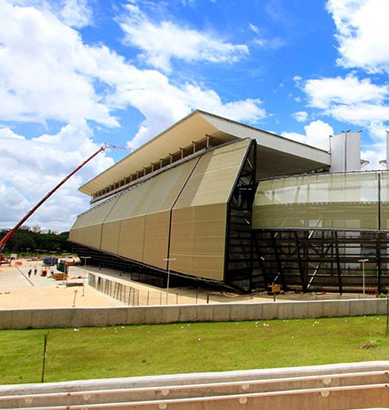 La tecnología de Panasonic en uno de los principales estadios de los partidos del mundial