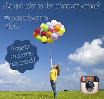 Concurso Instagram: #Coloresdeverano y llévate una Lumix GM1 o una Lumix TZ60