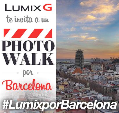 Lumix G de Panasonic te invita a un  PhotoWalk por Barcelona de la mano de @BarcelonaCitizen