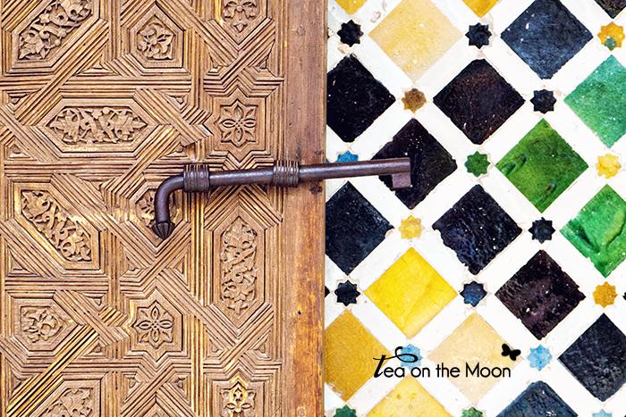 Granada l'Alhambra detalle