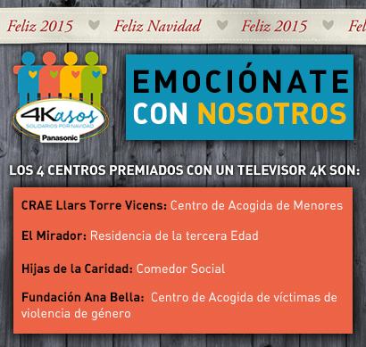 4Kasos Solidarios: una Navidad de emociones en Ultra HD