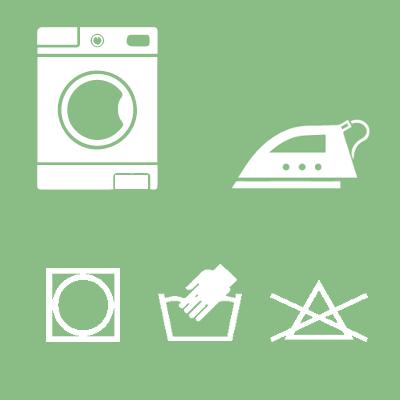 ¿Qué significan los símbolos de lavado en las etiquetas de la ropa?