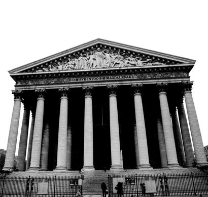 La Madeleine, una joya neoclásica en París