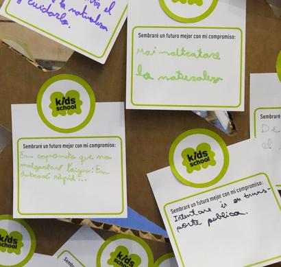 Kids School: nuestro granito de arena para la sostenibilidad