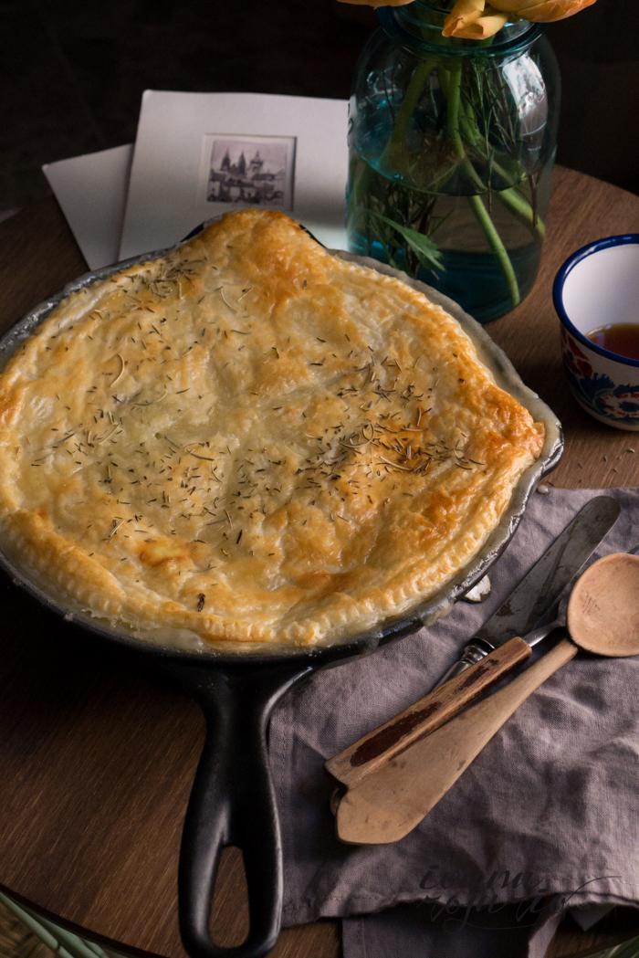 0009 20150301 Pastel pollo con puerro