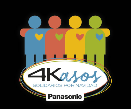 4Kasos Solidarios: comparte las sonrisas de las entidades sociales que recibieron un televisor 4K Panasonic.