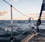 cruzando en velero el Atlántico