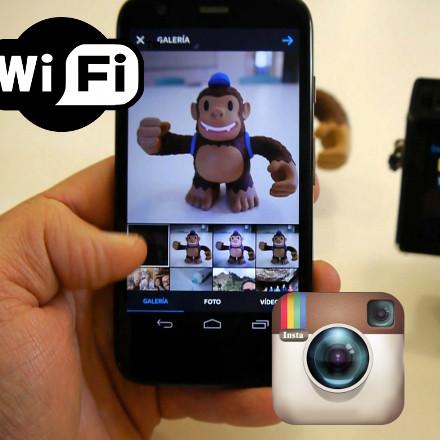 Subir fotos a Instagram desde tu cámara digital Lumix con Wi-Fi