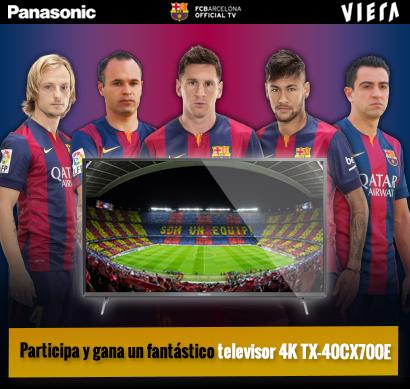 Nuevo concurso «Todo Panasonic con FC Barcelona». ¿Juegas con nosotros?