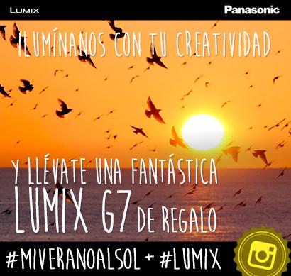 Concurso Instagram #MiVeranoAlSol: gana una Lumix G7 o una Lumix TZ70