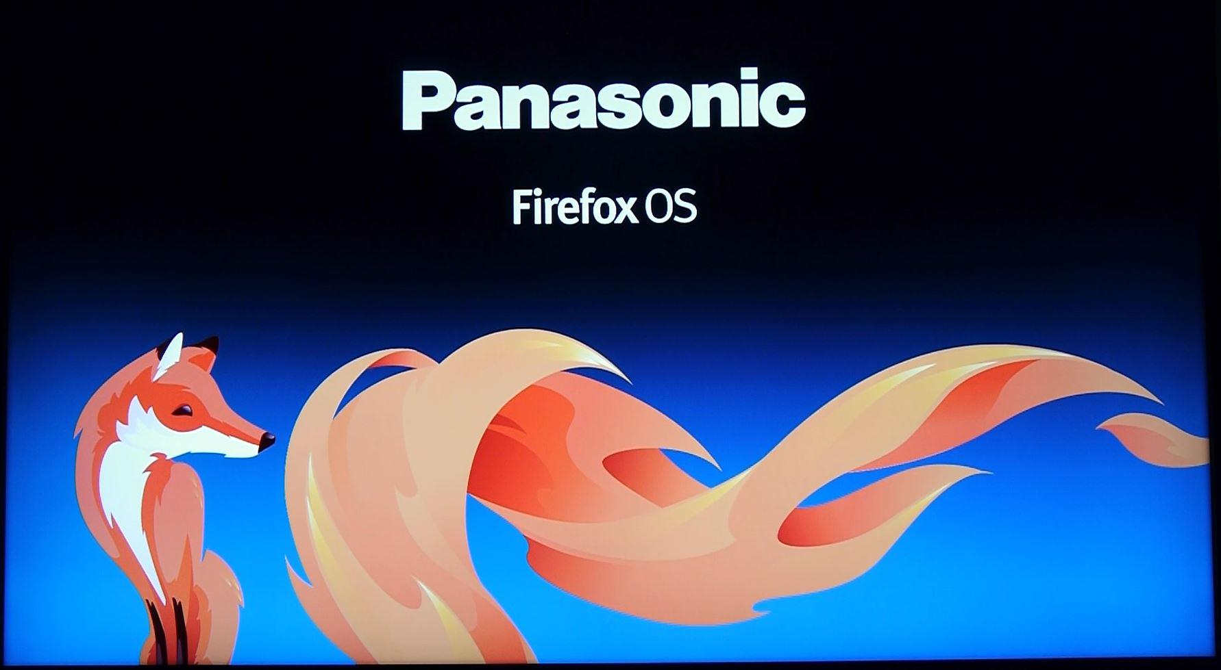 Nuevos televisores Panasonic con Firefox OS