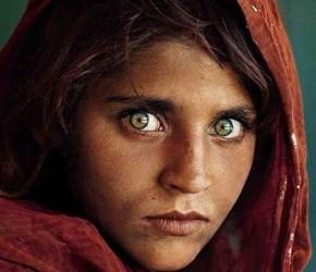Retrato | Niña Afgana, Pakistán | Steve McCurry