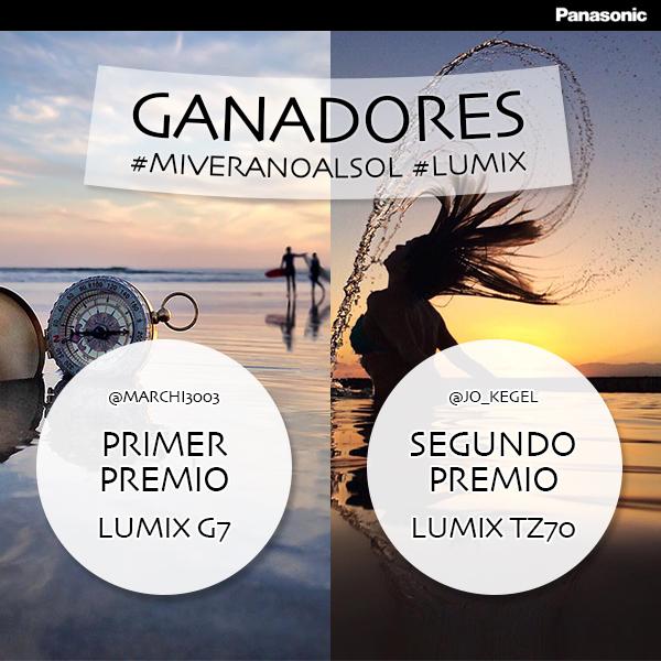 Ganadores del concurso de fotografía #MiVeranoAlSol en Instagram