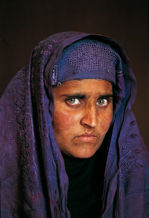 Sharbat Gula - Steve McCurry
