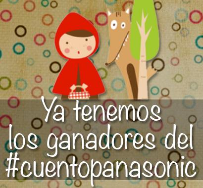 Ganadores del concurso #cuentopanasonic
