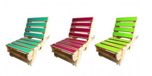 sillas con palets